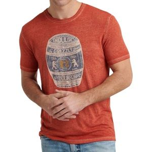 Lucky Brand Ol' Grizzly Bourbon graphic tee xl